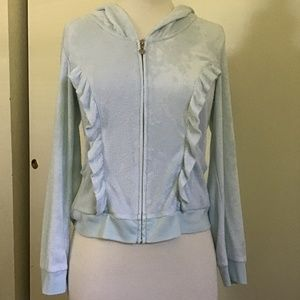 Vintage Betsy Johnson Light Blue Soft Hoodie Small